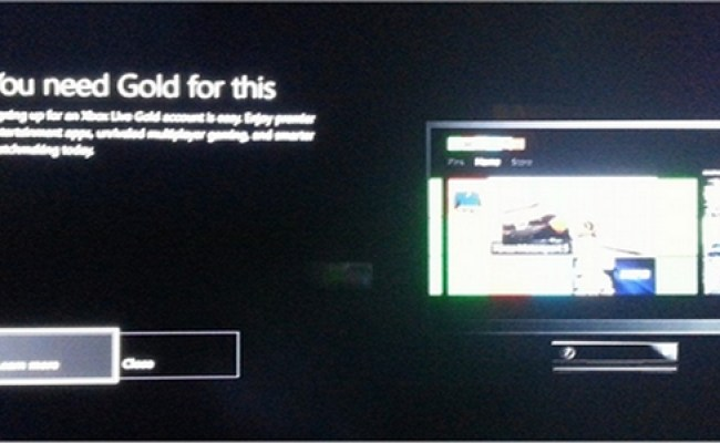 Xbox One Restricts Nearly Every Feature Without Xbox Live