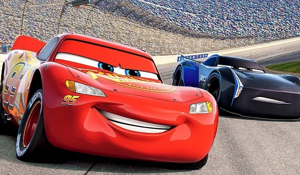Cars 3 Lightning McQueen races ahead of Jackson Storm