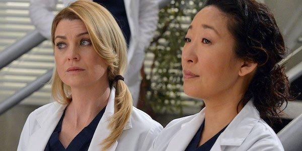 Meredith and Cristina