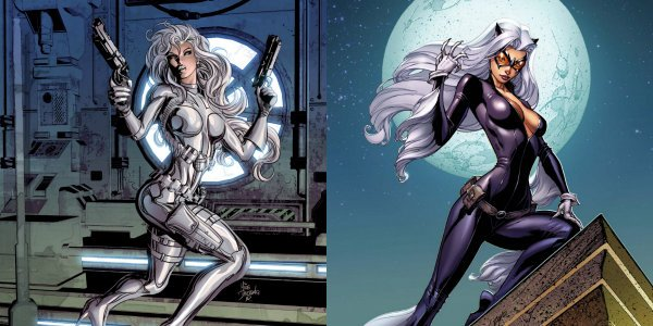 Black Cat and Silver Sable Marvel Comics