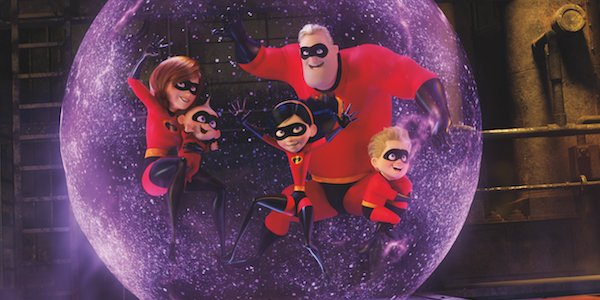 The Incredibles family