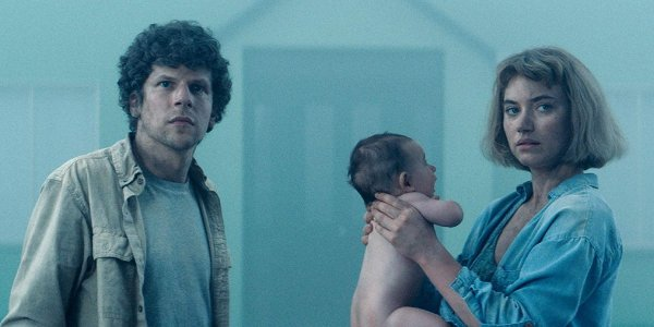 Jesse Eisenberg and Imogen Poots in Vivarium