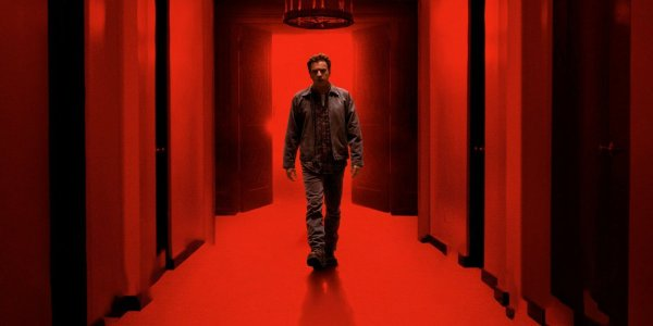 Doctor Sleep Danny Torrance walking in a red corridor