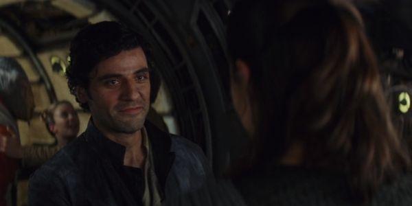 Poe and Rey Star Wars: The Last Jedi