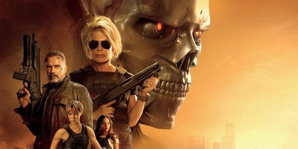 Terminator: Dark Fate character poster lineup