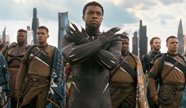 Black Panther in Infinity War
