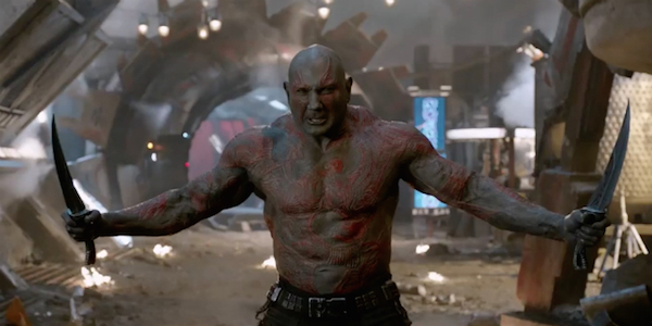Drax's Big Problem During Guardians Of The Galaxy 2, According To ...