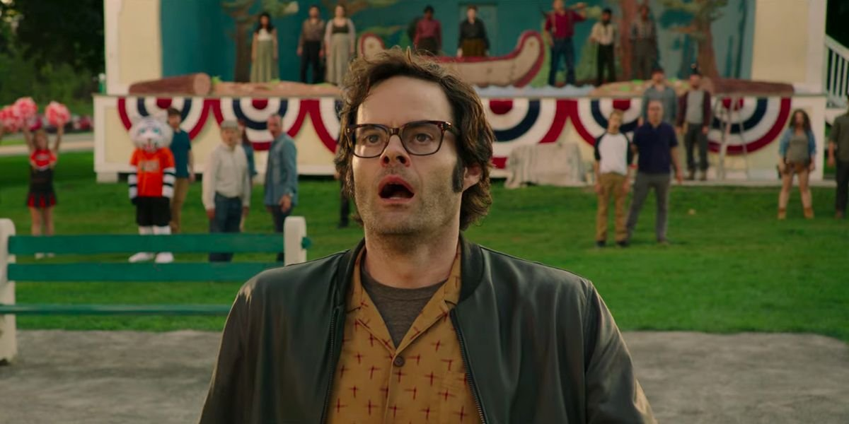Bill Hader as Grown Up Richie in IT: Chapter Two