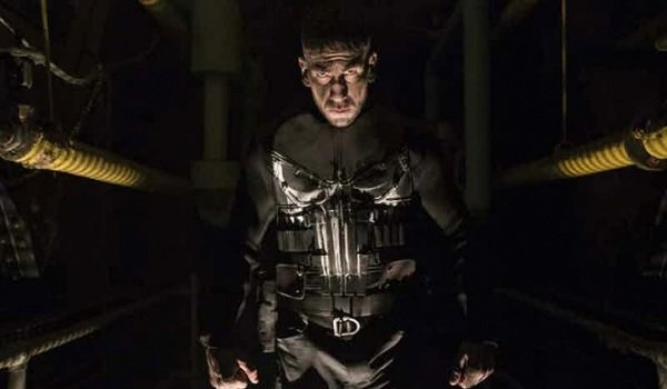 Marvel's The Punisher Frank Castle waiting in the dark