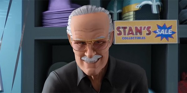 Image result for stan lee spider-Man: Into the Spider-Verse