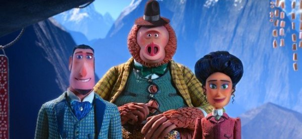 Missing Link lead characters