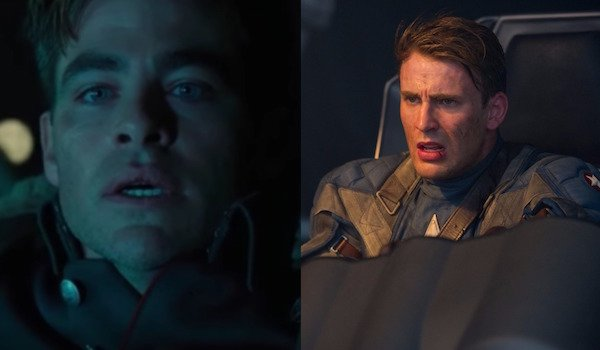 Steve Trevor and Captain America