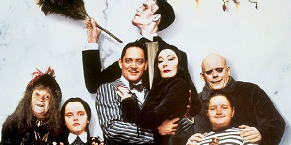 Image result for press image addams family movie