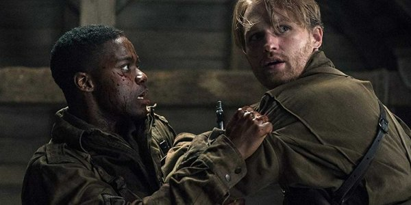 Jovan Adepo and Wyatt Russell in Overlord