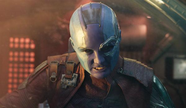 Karen Gillan Nebula Guardians of the Galaxy Vol. 2