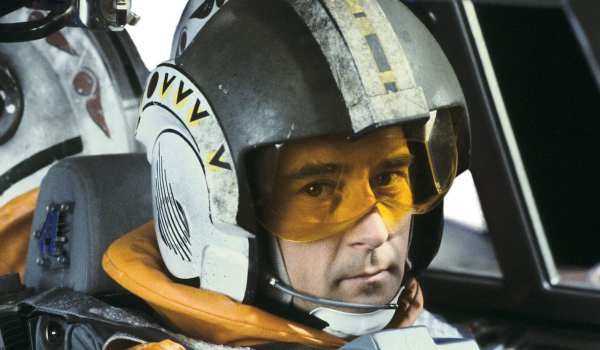 Wedge Antilles in The Empire Strikes Back