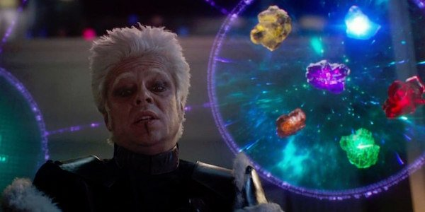 The Collector and Infinity Stones in Guardians of the Galaxy