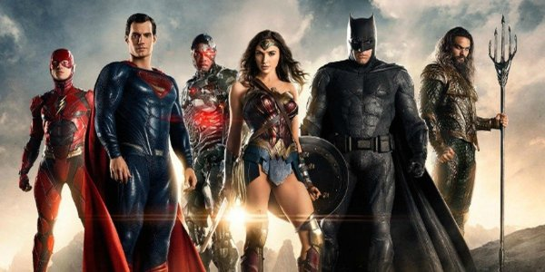 The cast of Justice League