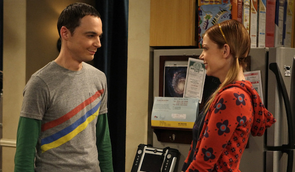 sheldon and ramona big bang theory