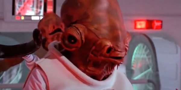 Admiral Ackbar in Return of the Jedi