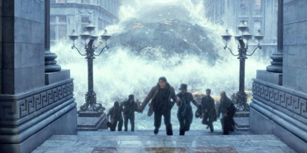 Jake Gyllenhaal running the day after tomorrow