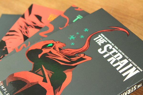 The Strain The Complete Series Blu-ray