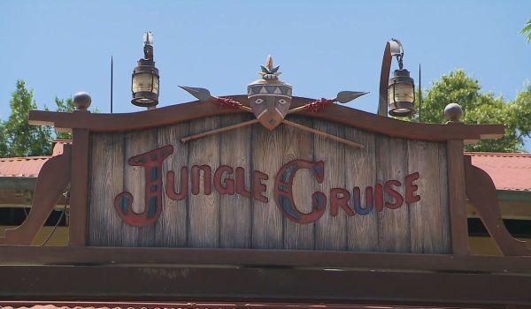 Jungle Cruise sign at Walt Disney World