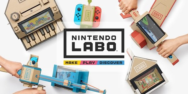 Nintendo Labo Lets Your Kids Build Cardboard Toys With The
