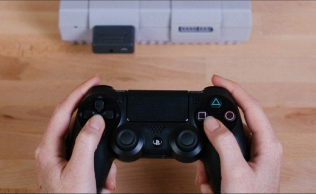 How You Can Play The Super Nintendo With A Ps4 Controller