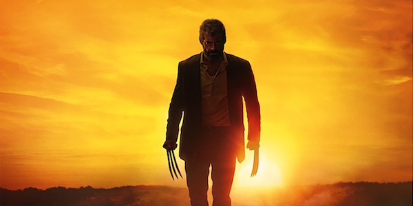Wolverine Logan Sunset in the background