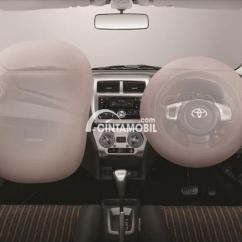Interior New Agya Trd 2017 Lampu All Yaris Profil Toyota Makin Gaya Dan Bertenaga Gambar Menunjukkan Fitur Airbag Di Mobil