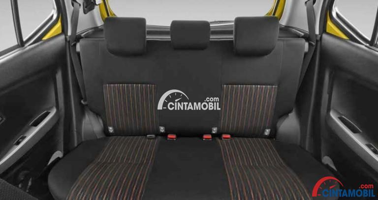 spesifikasi new agya trd 2017 toyota yaris uae profil makin gaya dan bertenaga gambar bagian kursi mobil dengan jok berwarna abu