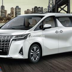 All New Alphard Facelift Mud Guard Grand Veloz Review Toyota 2018 Varian Teranyar Dari Tampilan Baru Mobil Berwarna Putih