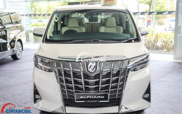 all new toyota alphard 2018 indonesia grand avanza veloz matic review facelift varian teranyar dari grill bagian depan mobil