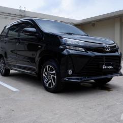 Review Mobil Grand New Veloz Avanza Vs Mitsubishi Xpander Toyota 2019 Gambar Menunjukkan Tampilan Depan Berwarna Hitam