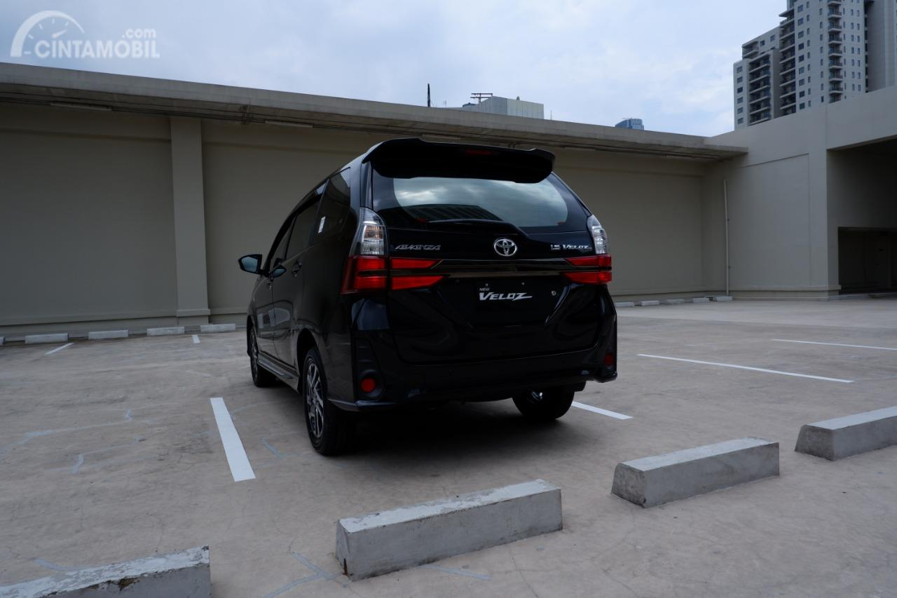 all new avanza veloz 2019 interior agya trd review toyota tampilan belakang