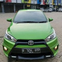 Toyota Yaris Trd Modif All New Camry 2018 Review S Matik Th 2015 Minimalis Hijau Vr18 Mulus Tdp