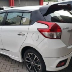 Toyota Yaris Trd Putih 2016 Bekas 1 5 At 2017 Km7rb 913248