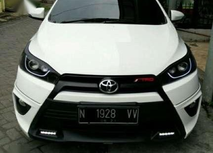 toyota yaris trd modif for sale all new 2014 at putih minimalis pajak baru bulan 6