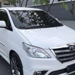 Grand New Kijang Innova V 2014 Veloz Bekas Inova Type Luxury Putih Matic Plat H 2 Digit Pajak 1 Th