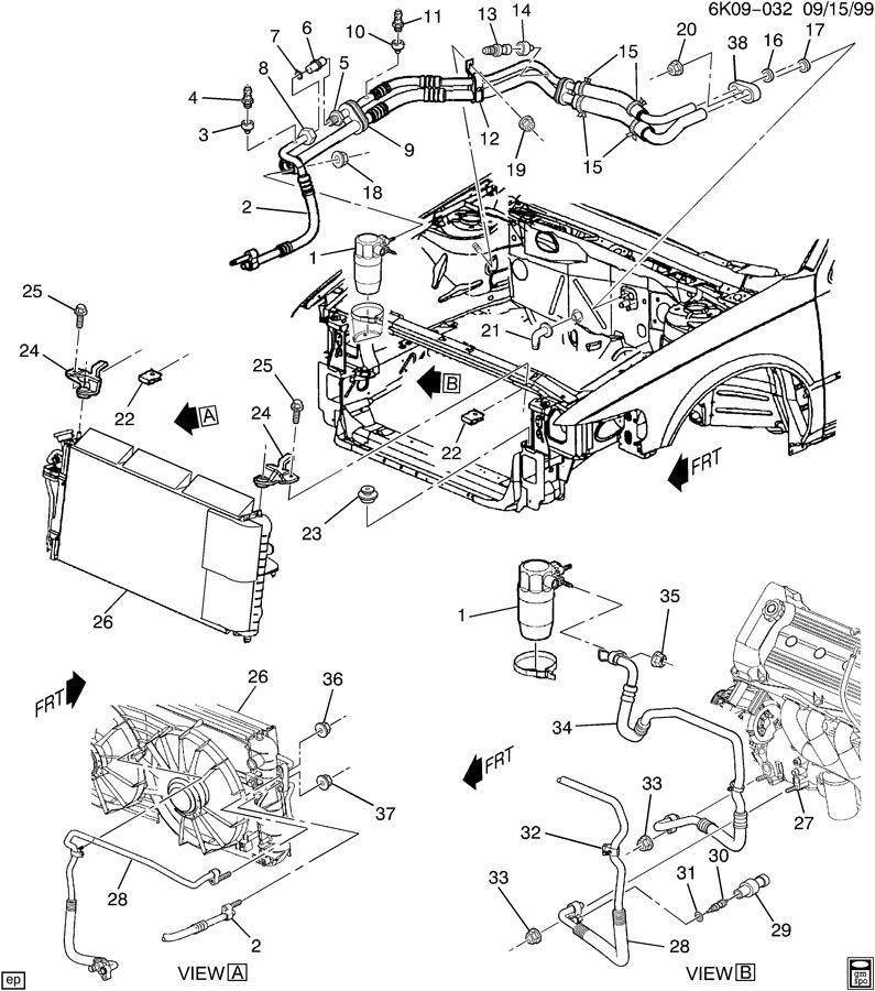 Topic For Cadillac Cts 2004 Pictures Of Radiator Lines