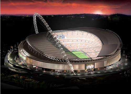 倫敦奧運會足球比賽場館 溫布利體育場 - 建筑新聞