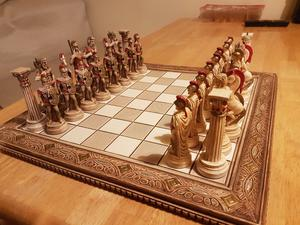 Forma G Dagiandis Amp Co Greek Chess Set  Posot Class