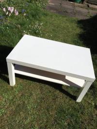 Ikea white coffee table   Posot Class