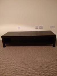 Lappland ikea tv stand up to 55 inch brown very