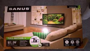 Sanus vuepoint f215b full motion tv wall mount