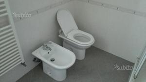 Sanitari wc bidet lavabo champagne beige crema  Posot Class