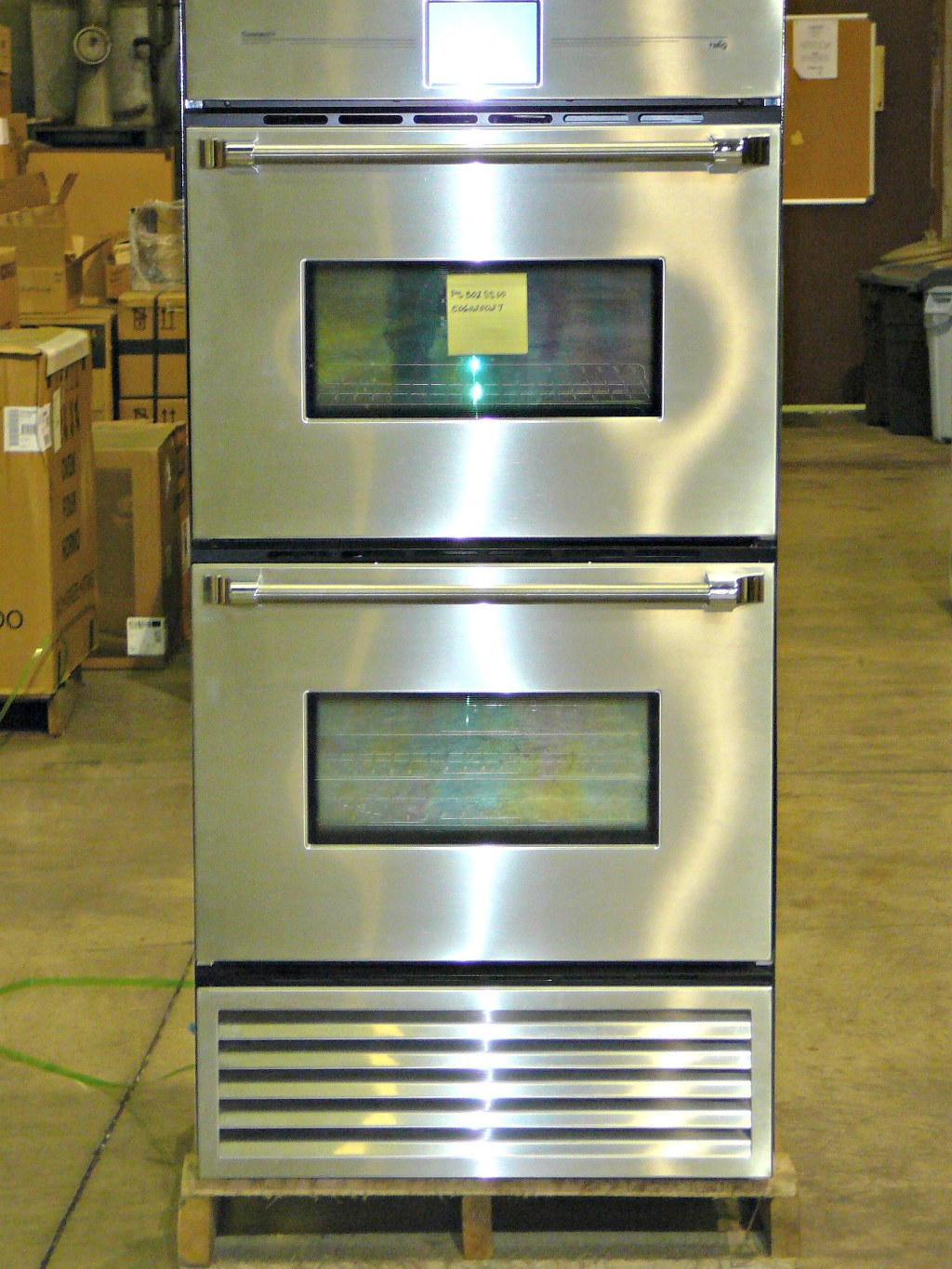 30 Refrigerator And Double Convection Wall Oven Combination Unit