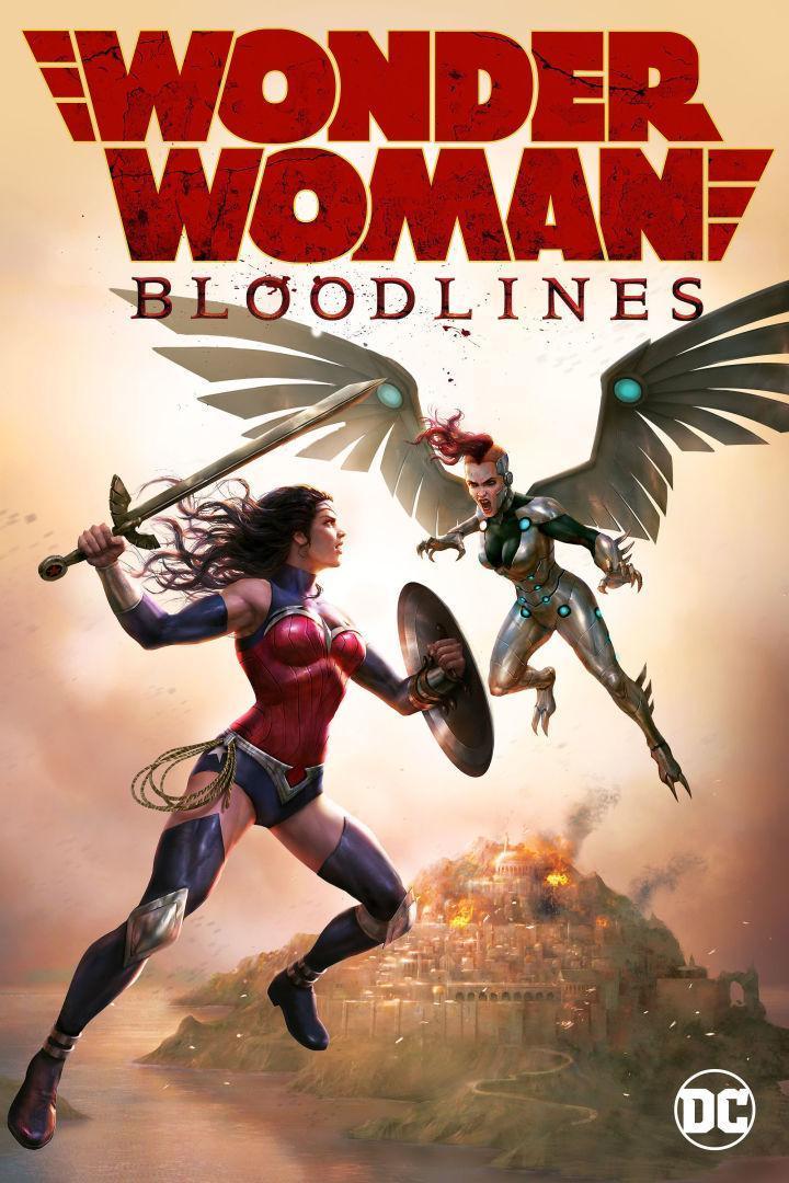 Wonder Woman: Bloodlines [2019][Latino][1080p][MEGA]