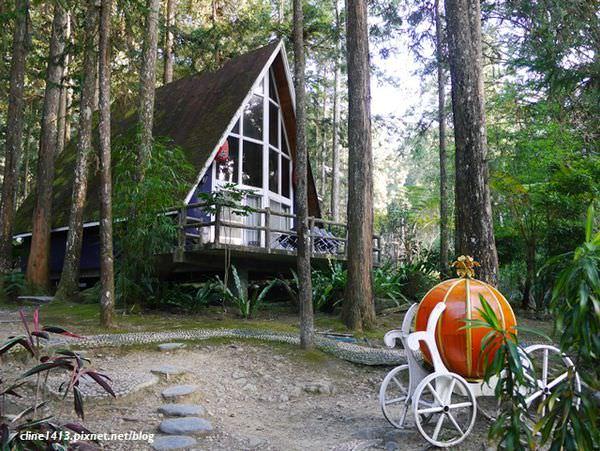 ▌南投住宿▌超夢幻!隱藏版的童話森林小屋就在♥明山森林會館♥
